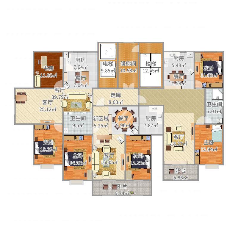 居住区设计户型