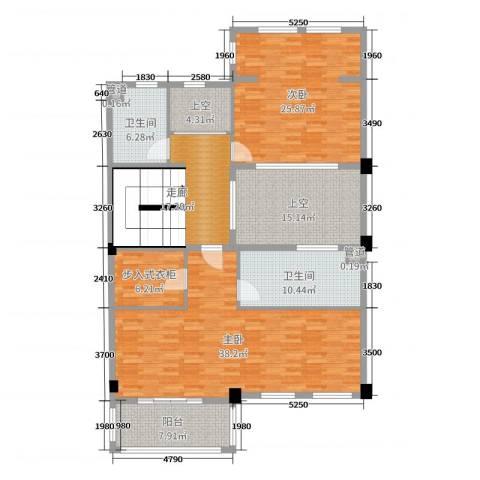 开投置业公元世家2室0厅2卫0厨330.00㎡户型图