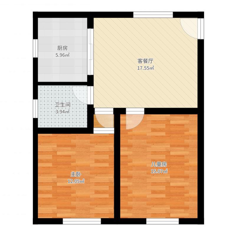 上海_新平公寓_原户型