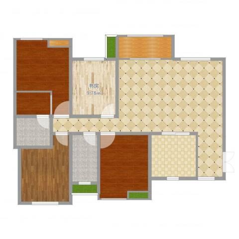 融创凡尔赛领馆1室1厅7卫3厨140.00㎡户型图