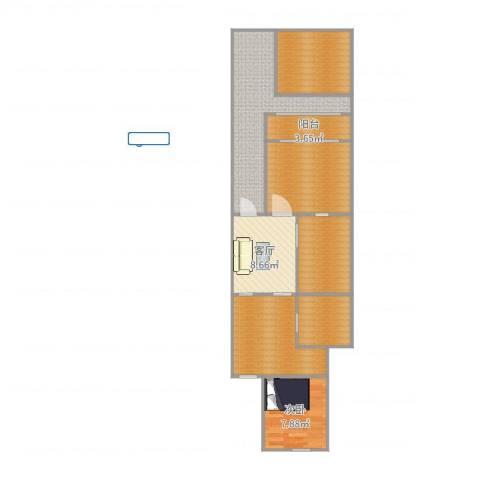 众盛公寓1室1厅0卫0厨75.13㎡户型图