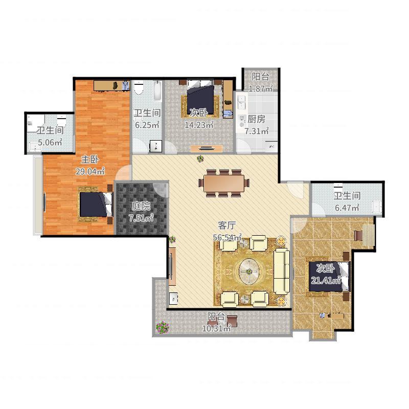 042海月五期4房2厅166平.jpg