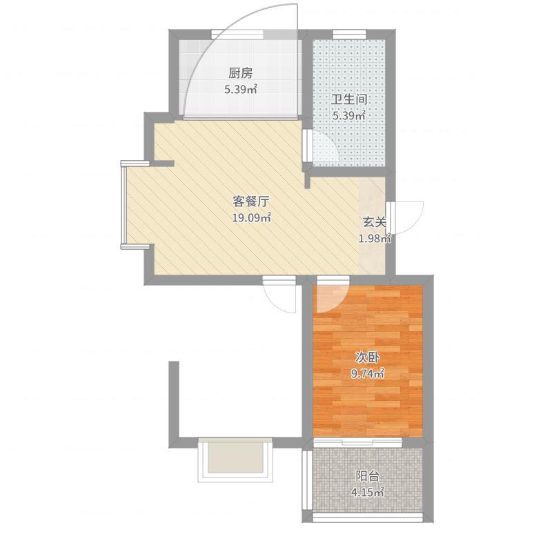 沧州_弘仁里_2017-04-11-1604户型图