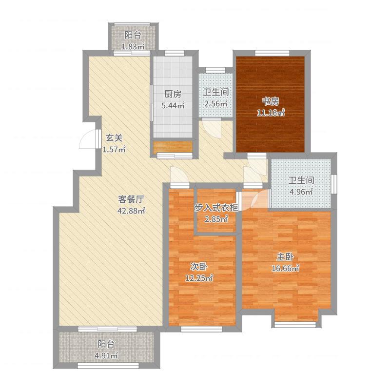 宝坻原筑小区-副本户型图