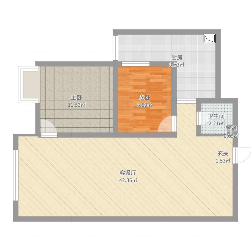 张家口_尚峰_2017-04-10-1626户型图