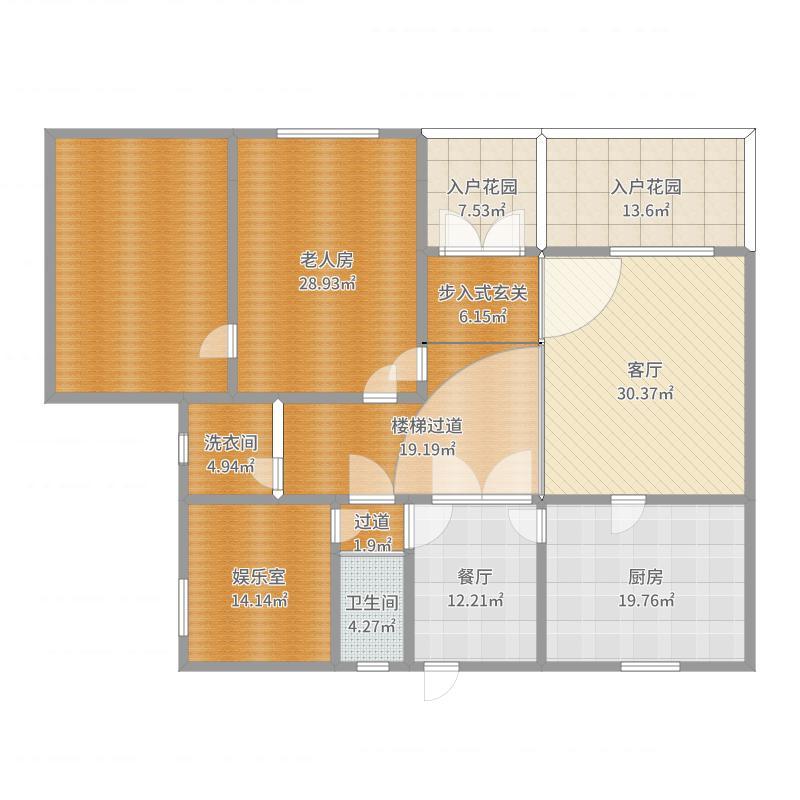 中式豪华别墅-一楼