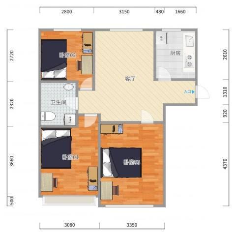 万方家园E区1-1-604