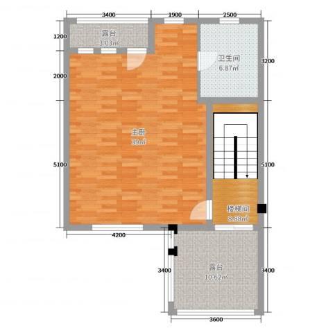 御邦二期1室0厅1卫0厨278.00㎡户型图