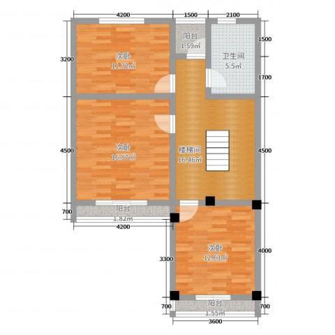御邦二期3室0厅1卫0厨278.00㎡户型图