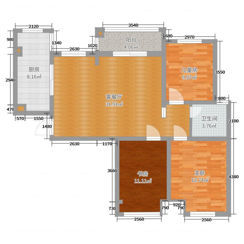 未来城2号楼2单元1401