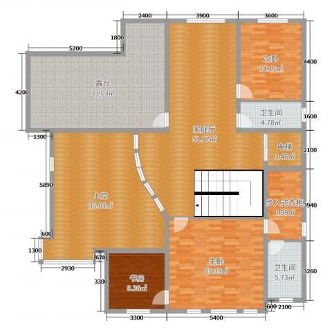 大汉汉园3室0厅2卫0厨439.00㎡户型图