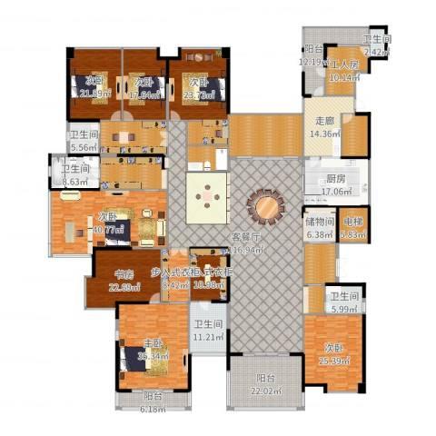 龙泉豪苑7室2厅5卫1厨655.00㎡户型图