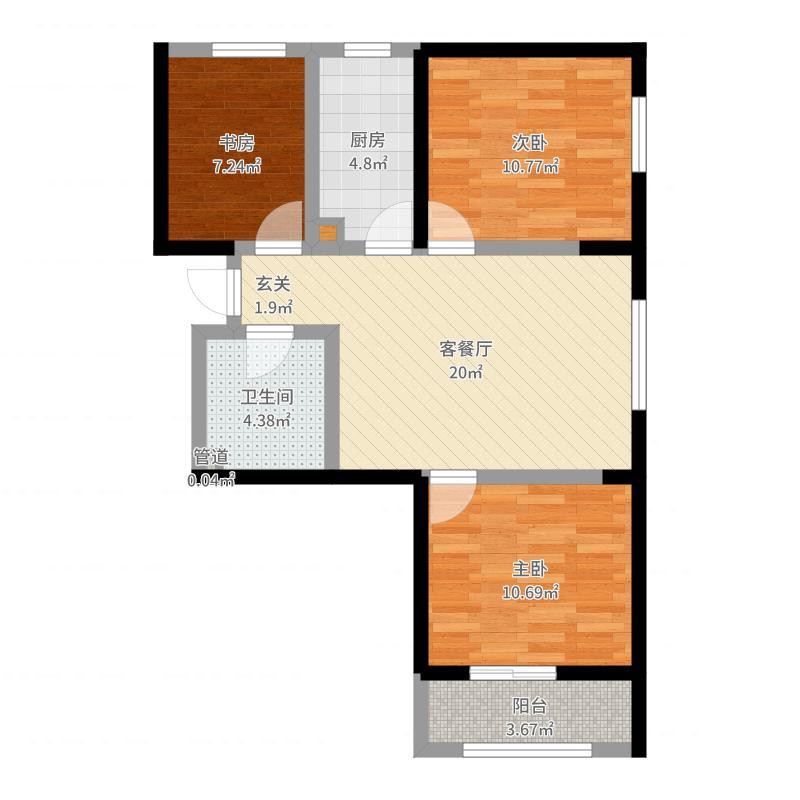 北京_四季怡园_2017-04-27-1717户型图