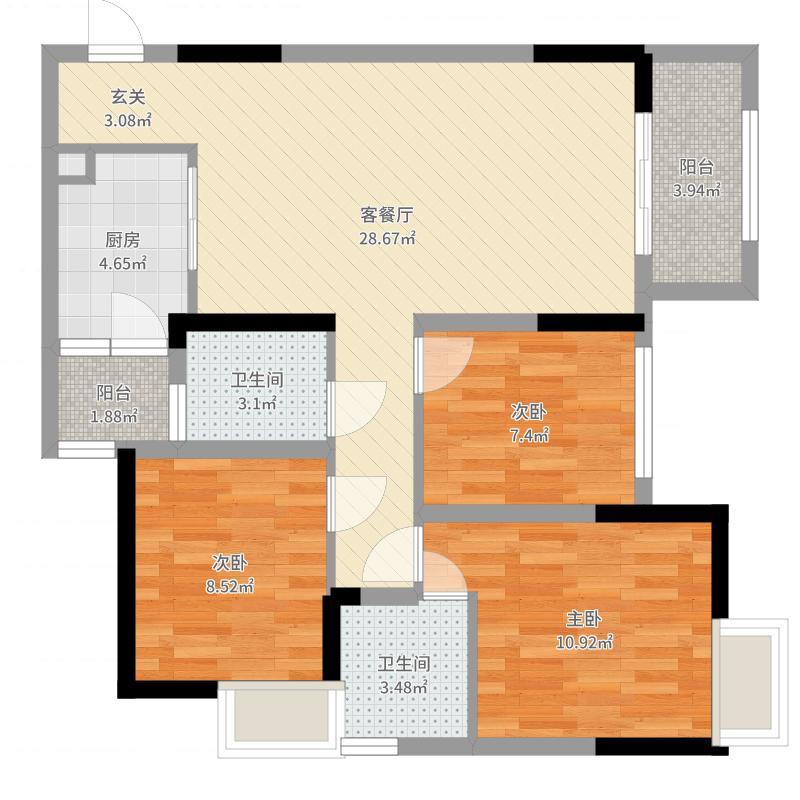 重庆_首地江山赋_2017-04-27-1842户型图