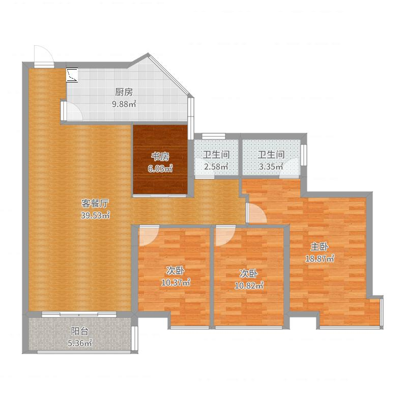建投悦界11-12-4平面图
