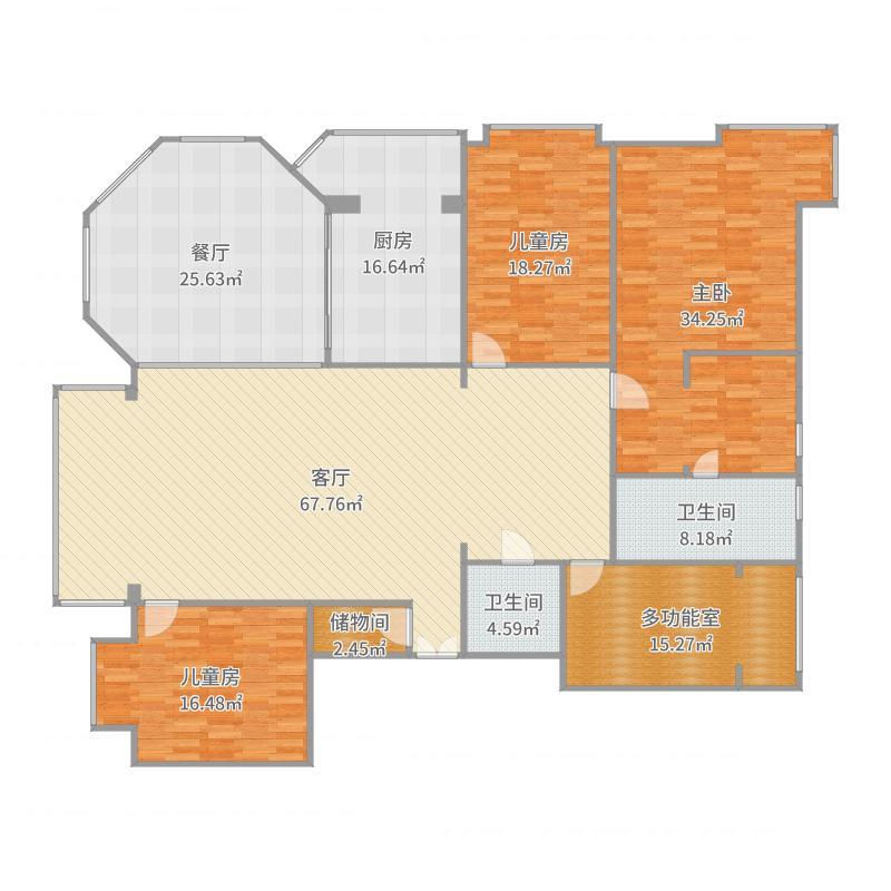 盛世江南1号楼1单元2801_2017-05-22-1449户型图