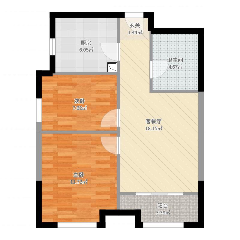 北京_红山郡_2017-05-23-1108户型图