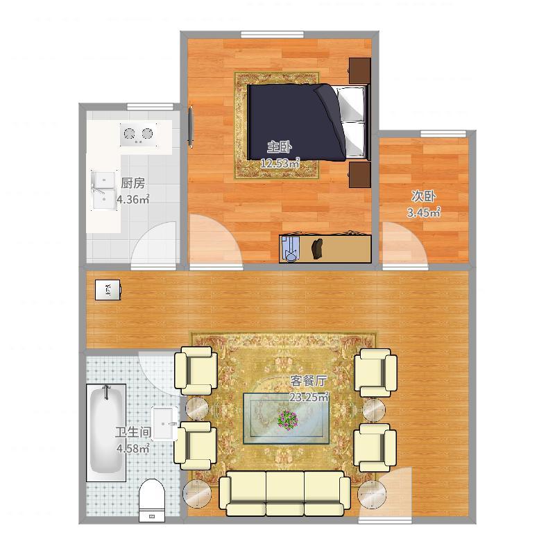 信息工程学院宿舍户型图