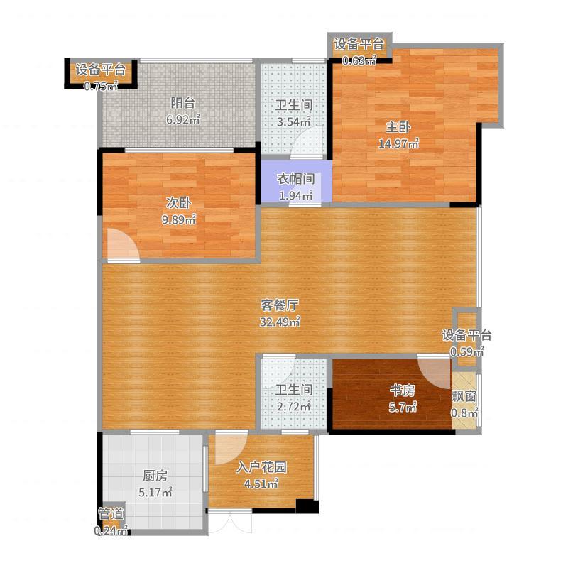 复地・上城国际公寓 上城国际公寓户型图
