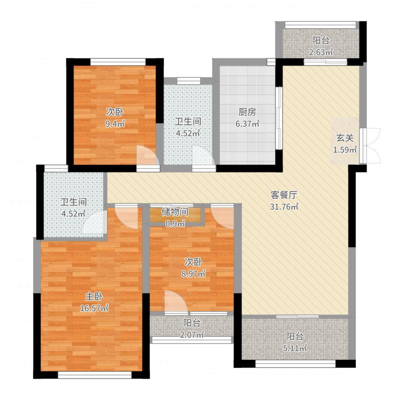 中南御锦城-副本户型图