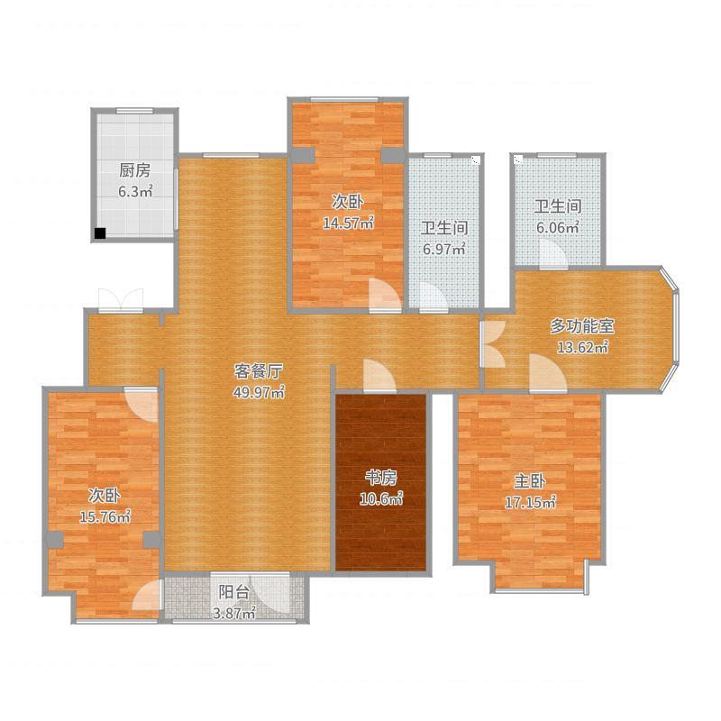 国际新城23楼1单401户型图