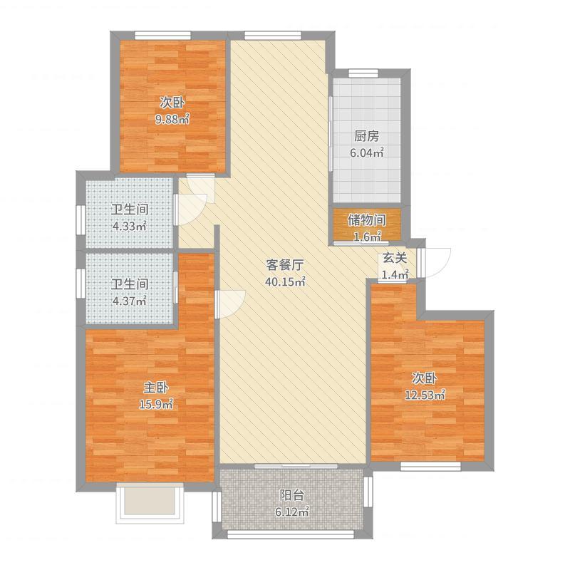 东明花苑户型图