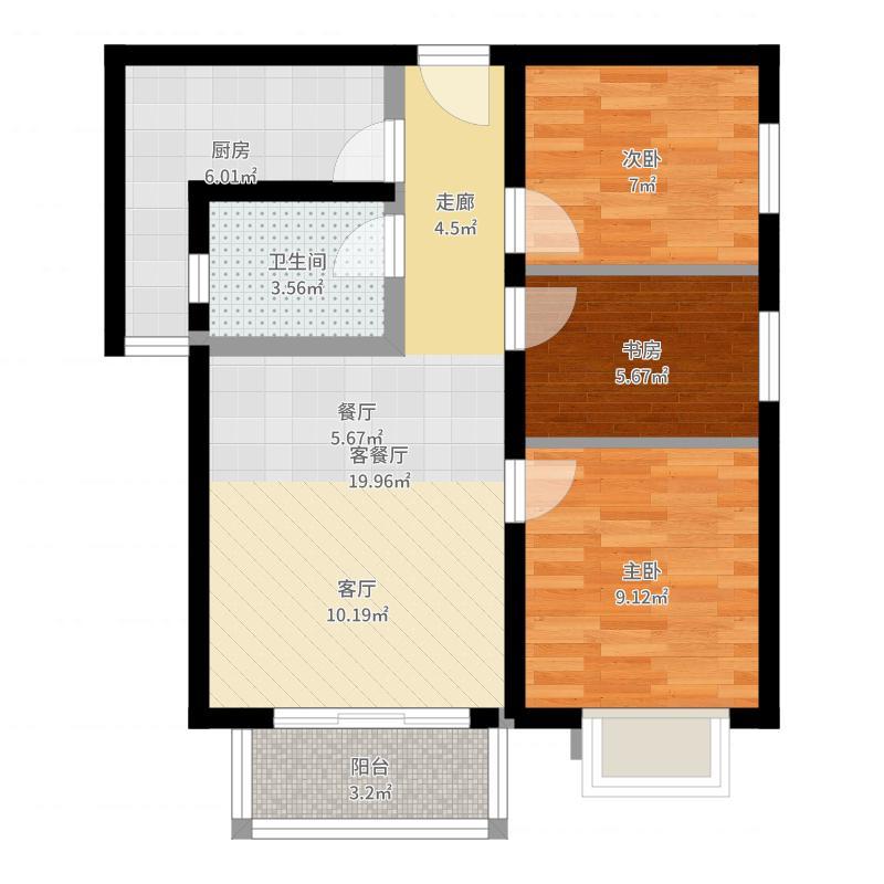 北京_上上城青年社区二期_2017-05-24-1138户型图