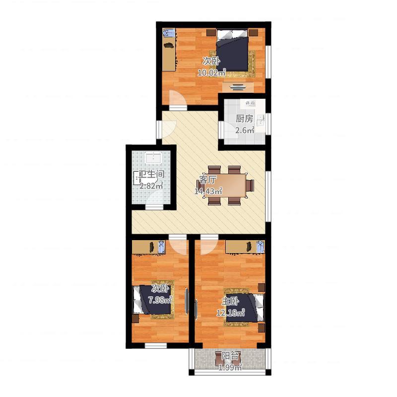 2286512户型图