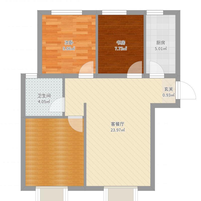 中建・高街国际户型图