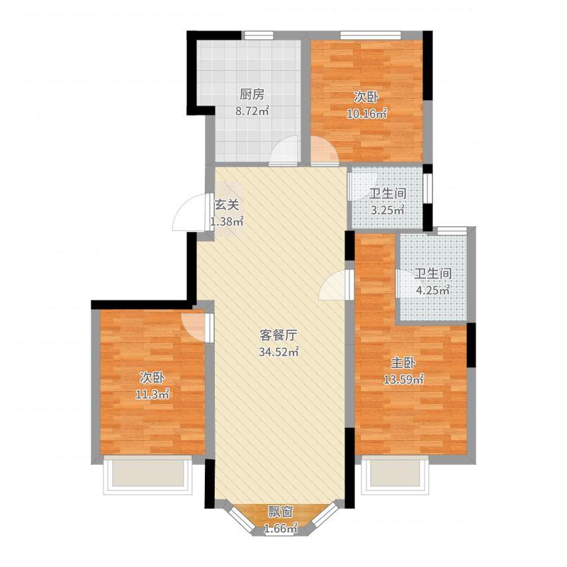 沈阳_金地铁西檀府_2017-05-24-1632户型图