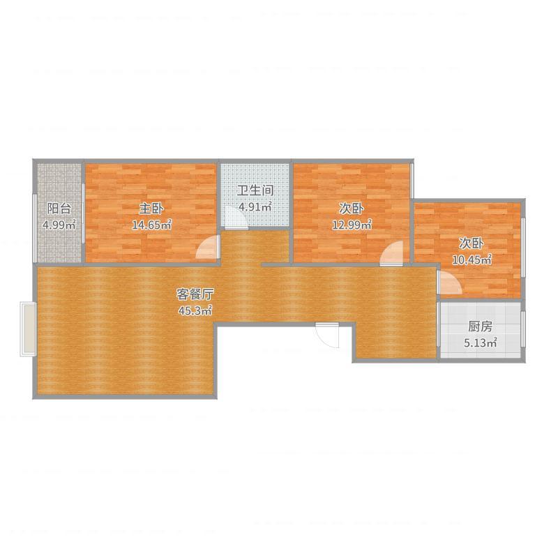 华馨名邸3-D户型图