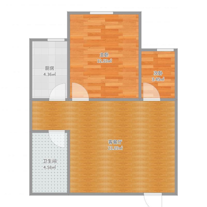 信息工程学院宿舍-副本户型图