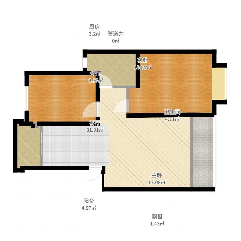 上海_金唐公寓_2017-05-24-1932户型图