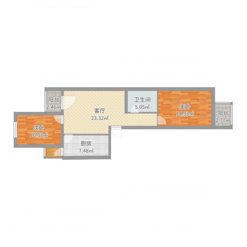 安化北里2号院-副本户型图