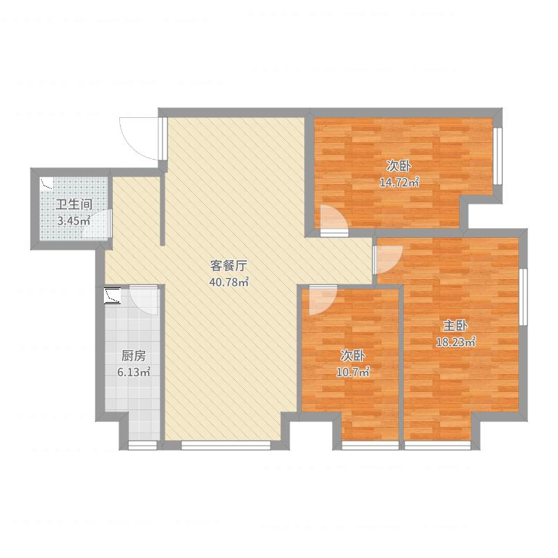 廊坊_K2·京南狮子城_2017-05-25-1030户型图