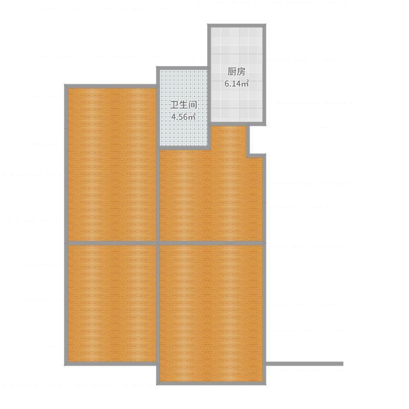 3号楼3层02户型户型图