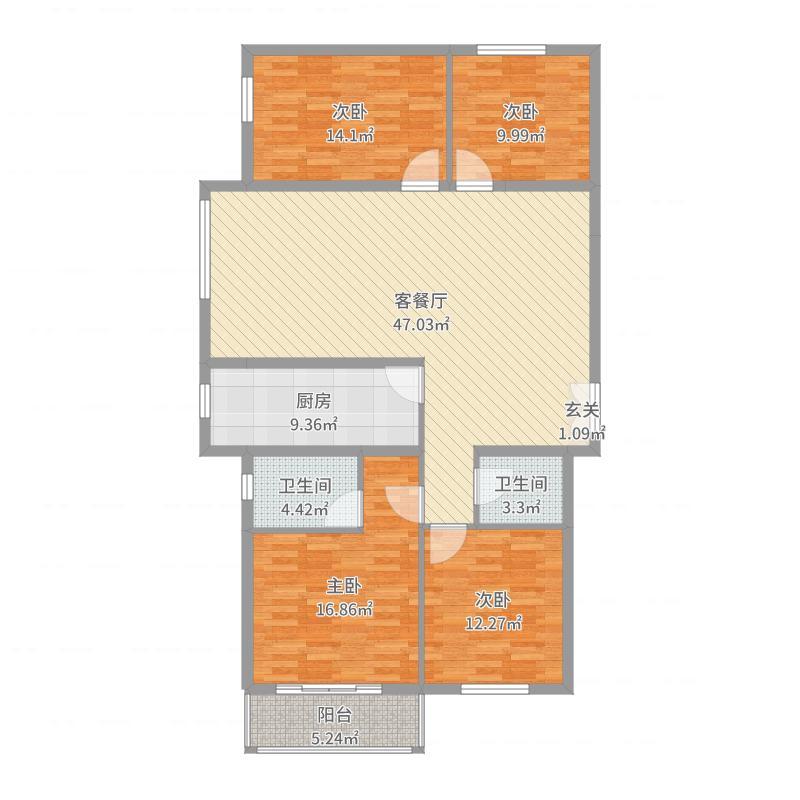 晋城_旺园_2017-05-25-1835户型图