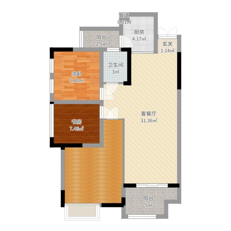 重庆_汇祥林里3000_2017-05-25-1514户型图
