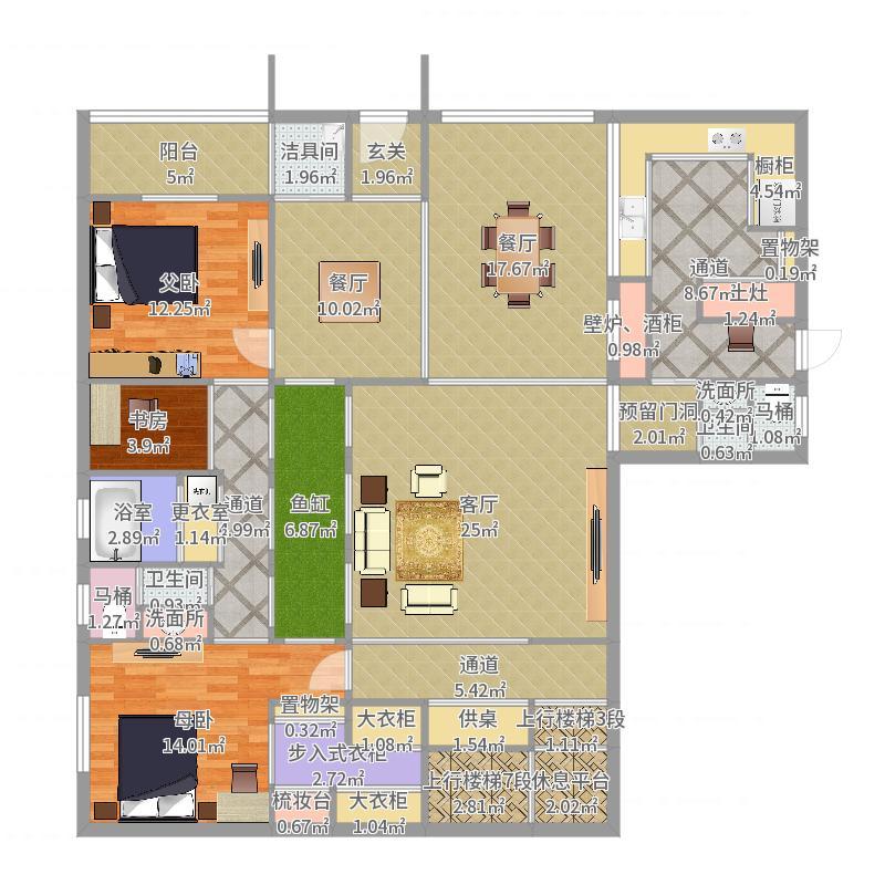 一楼4.0户型图