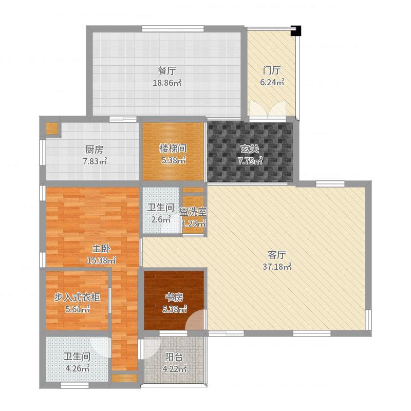 别墅1楼-副本户型图