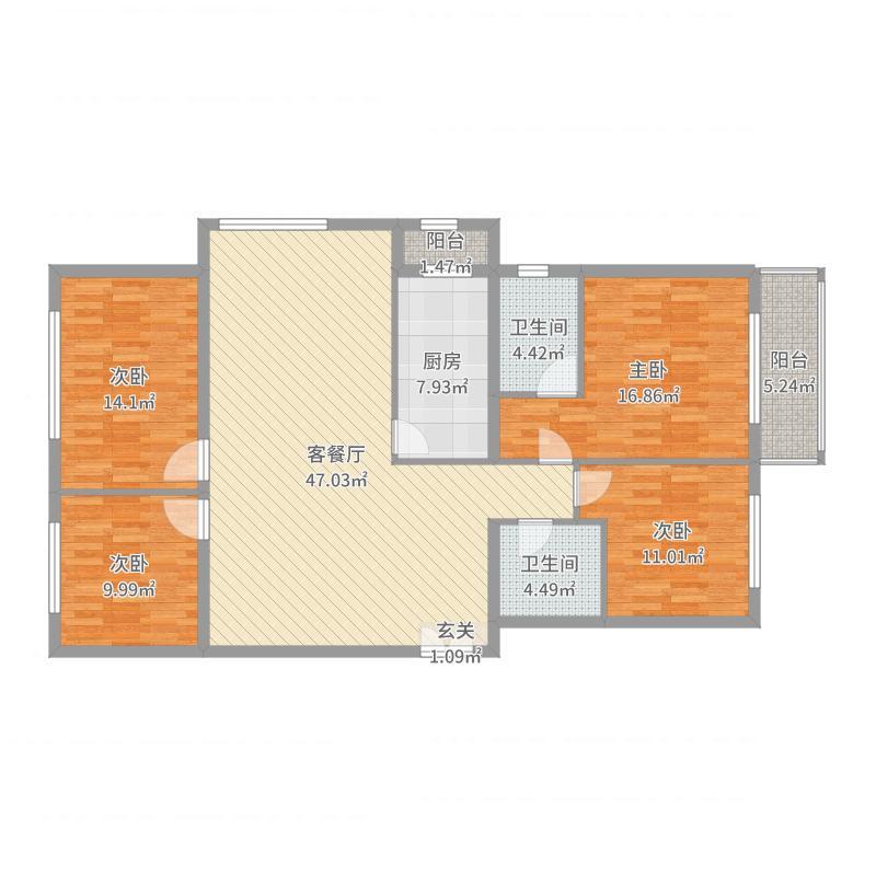 晋城_金九旺园_2017-05-26-0817户型图