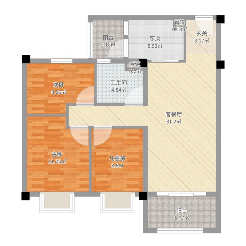 南京_碧桂园世纪城邦_2017-05-26-1056户型图