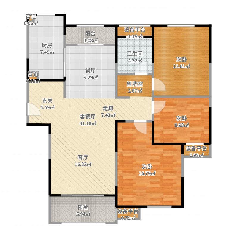 上海_汤臣臻园_2017-05-26-1649户型图