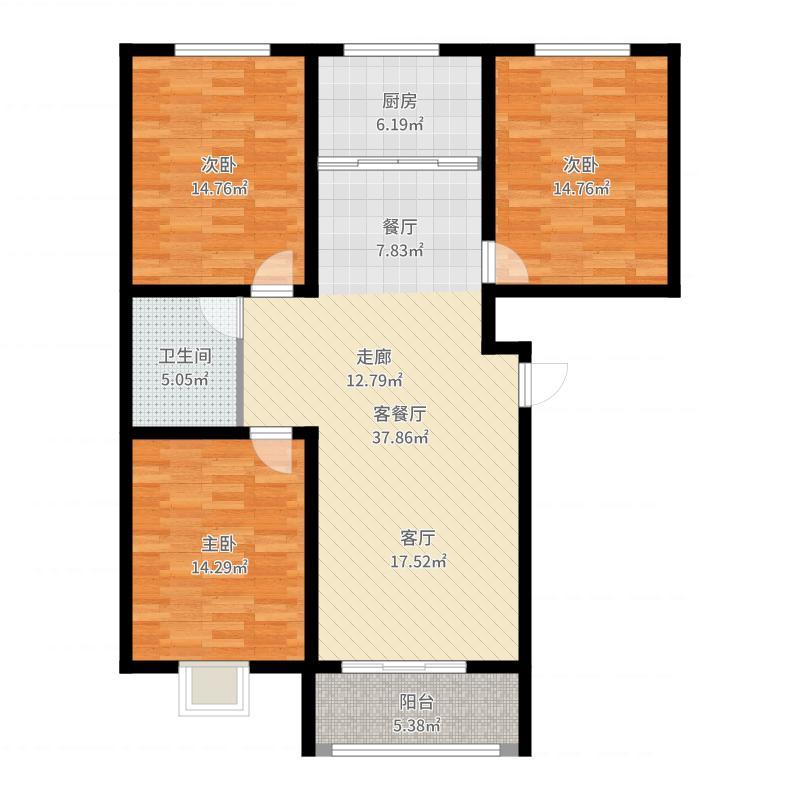 世纪家园户型图
