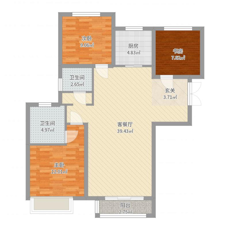 北京_汇福悦榕湾_2017-05-26-1521户型图