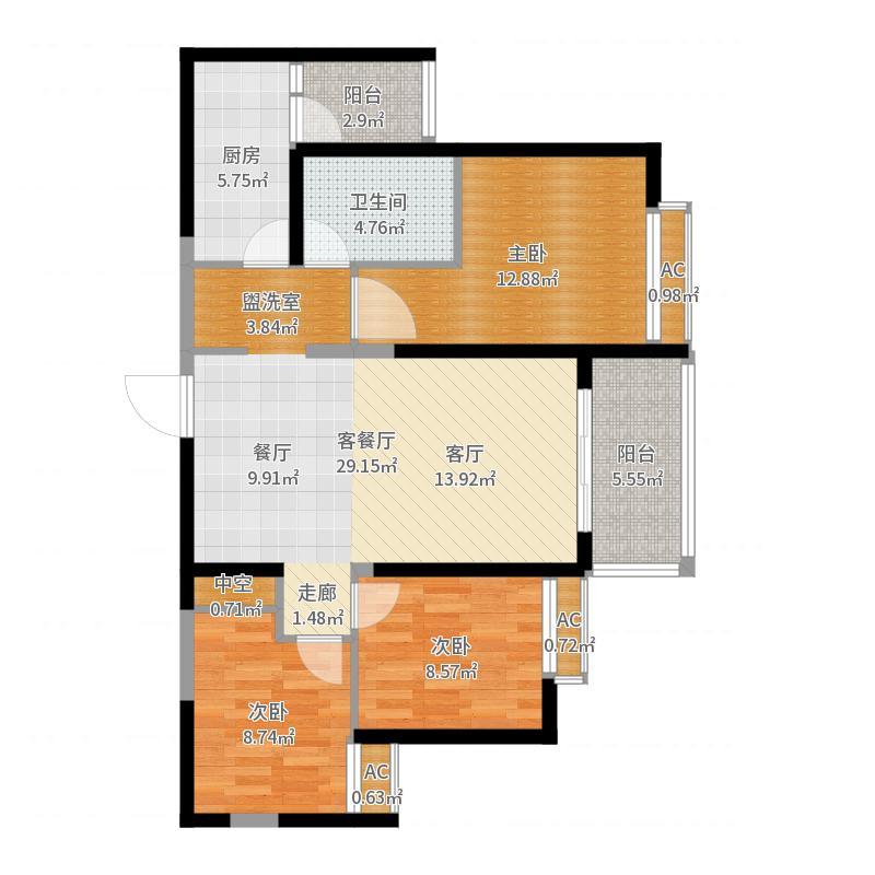沧州恒大城户型图