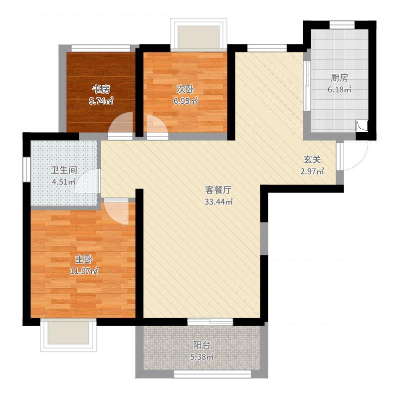 和昌湾景项目户型图