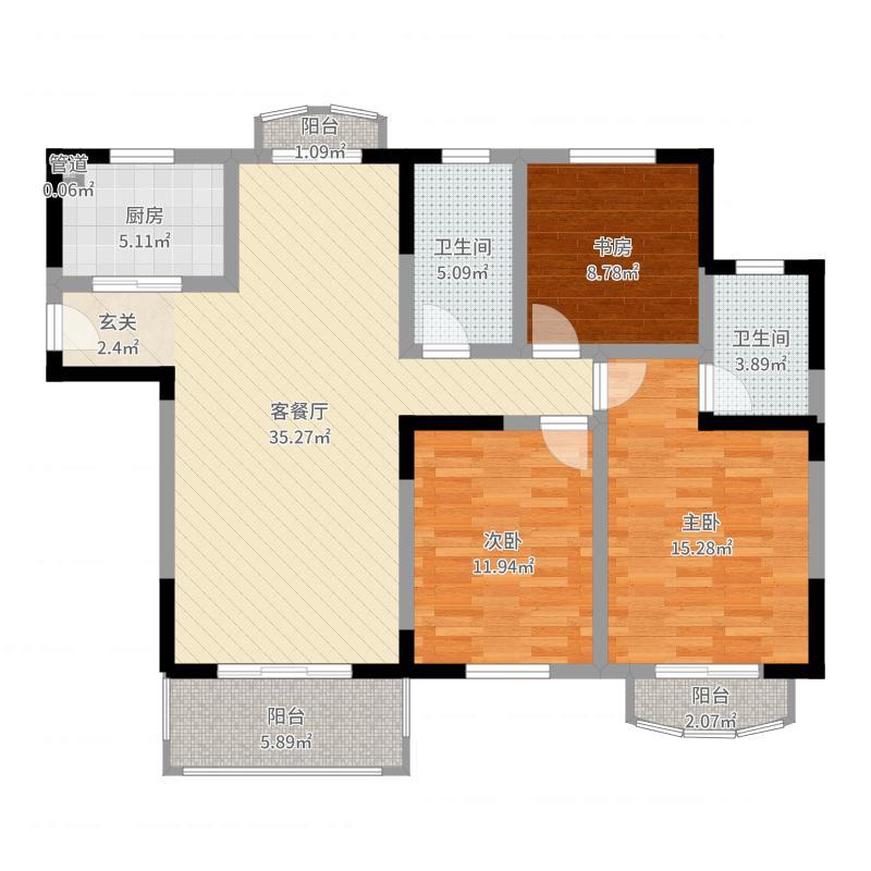 银河湾紫苑户型图