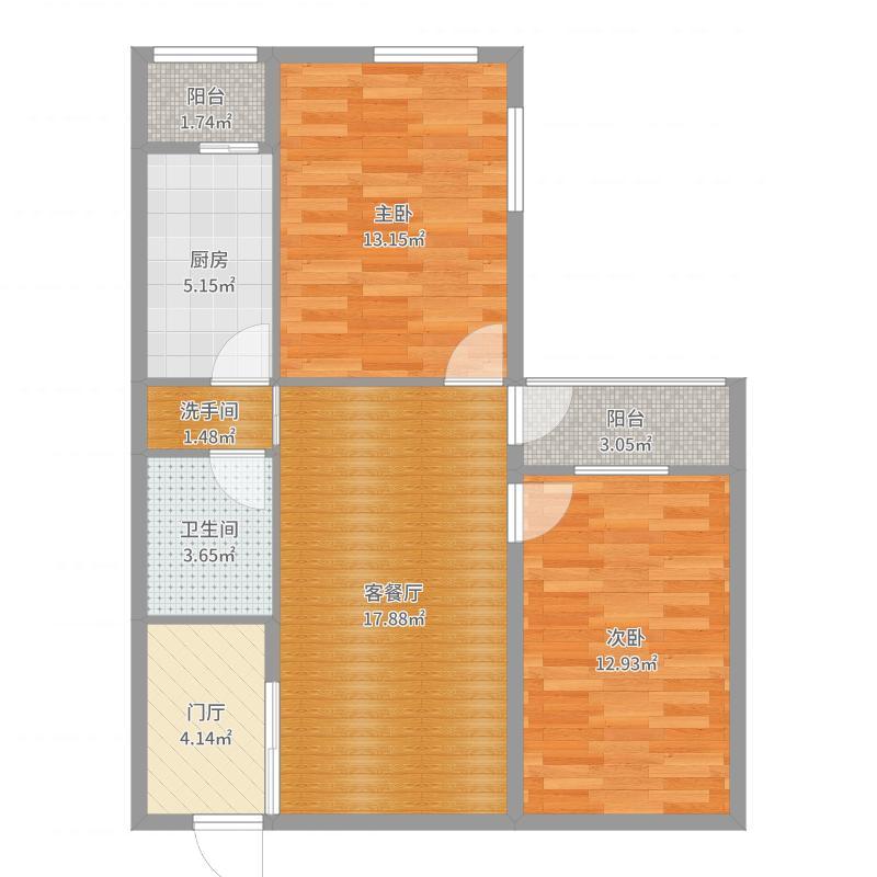 育新花园二期67号楼-副本户型图