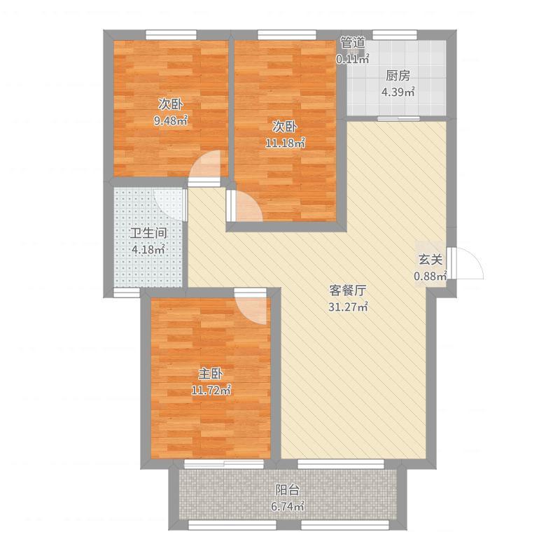石家庄_厚德福城_2017-05-27-0923户型图
